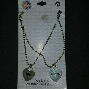 Other - Best Friends Necklace set heart Necklaces